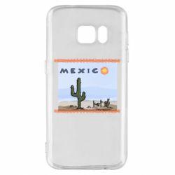 Чохол для Samsung S7 Mexico art