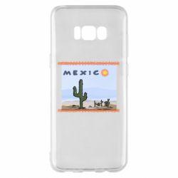Чохол для Samsung S8+ Mexico art
