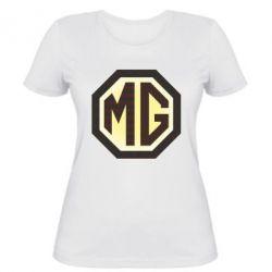 Женская футболка MG Cars Logo - FatLine