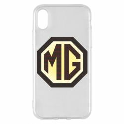 Чохол для iPhone X MG Cars Logo - FatLine