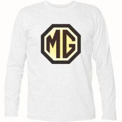 Футболка с длинным рукавом MG Cars Logo - FatLine