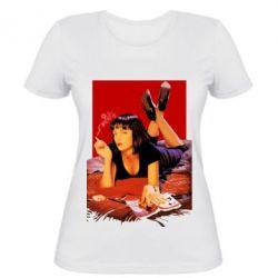 Женская футболка Mia Wallace - FatLine