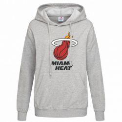 Женская толстовка Miami Heat - FatLine