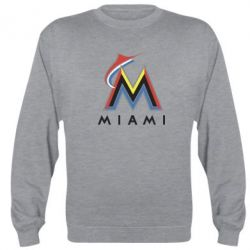 Реглан (свитшот) Miami Marlins - FatLine