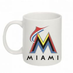 Кружка 320ml Miami Marlins - FatLine