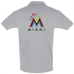 Футболка Поло Miami Marlins - FatLine