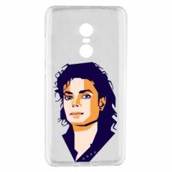 Чехол для Xiaomi Redmi Note 4 Michael Jackson Graphics Cubism