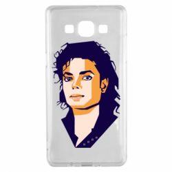Чохол для Samsung A5 2015 Michael Jackson Graphics Cubism