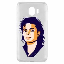 Чохол для Samsung J4 Michael Jackson Graphics Cubism