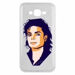 Чохол для Samsung J7 2015 Michael Jackson Graphics Cubism
