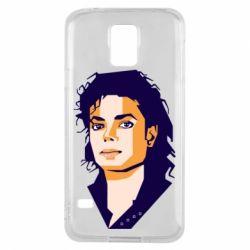 Чохол для Samsung S5 Michael Jackson Graphics Cubism