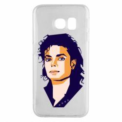 Чохол для Samsung S6 EDGE Michael Jackson Graphics Cubism