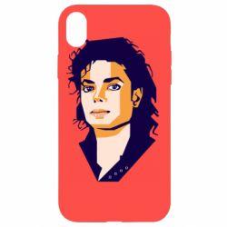Чохол для iPhone XR Michael Jackson Graphics Cubism