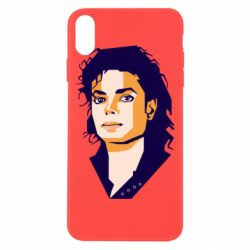 Чохол для iPhone Xs Max Michael Jackson Graphics Cubism