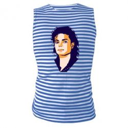 Майка-тільняшка Michael Jackson Graphics Cubism