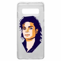 Чохол для Samsung S10+ Michael Jackson Graphics Cubism
