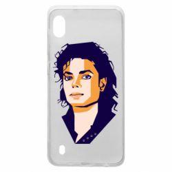 Чохол для Samsung A10 Michael Jackson Graphics Cubism