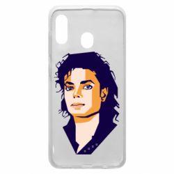 Чохол для Samsung A20 Michael Jackson Graphics Cubism