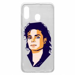 Чохол для Samsung A30 Michael Jackson Graphics Cubism