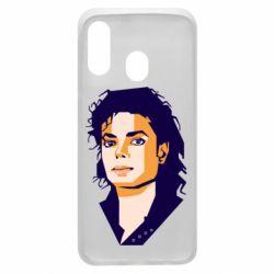 Чохол для Samsung A40 Michael Jackson Graphics Cubism