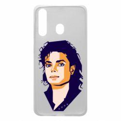 Чохол для Samsung A60 Michael Jackson Graphics Cubism