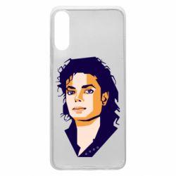 Чохол для Samsung A70 Michael Jackson Graphics Cubism