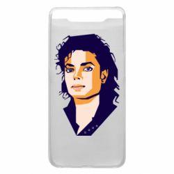 Чохол для Samsung A80 Michael Jackson Graphics Cubism
