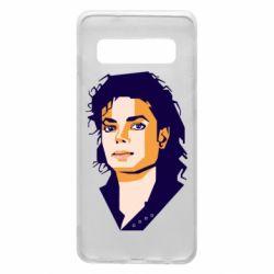 Чохол для Samsung S10 Michael Jackson Graphics Cubism
