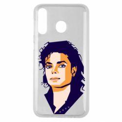 Чохол для Samsung M30 Michael Jackson Graphics Cubism