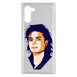 Чохол для Samsung Note 10 Michael Jackson Graphics Cubism