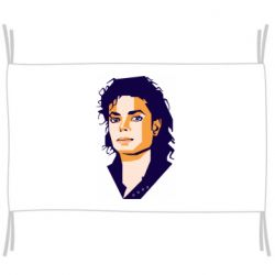 Прапор Michael Jackson Graphics Cubism