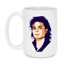 Кружка 420ml Michael Jackson Graphics Cubism