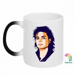 Кружка-хамелеон Michael Jackson Graphics Cubism