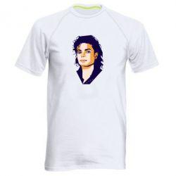 Чоловіча спортивна футболка Michael Jackson Graphics Cubism