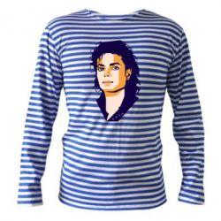Тільник з довгим рукавом Michael Jackson Graphics Cubism