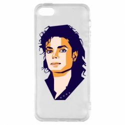 Чохол для iphone 5/5S/SE Michael Jackson Graphics Cubism
