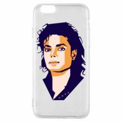 Чохол для iPhone 6/6S Michael Jackson Graphics Cubism