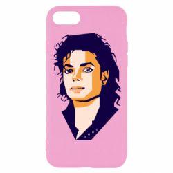 Чохол для iPhone 7 Michael Jackson Graphics Cubism