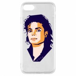 Чохол для iPhone 8 Michael Jackson Graphics Cubism