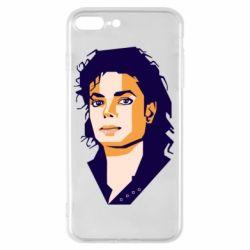 Чохол для iPhone 8 Plus Michael Jackson Graphics Cubism