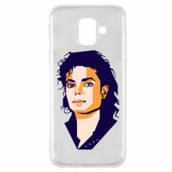 Чохол для Samsung A6 2018 Michael Jackson Graphics Cubism