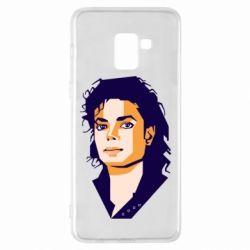 Чохол для Samsung A8+ 2018 Michael Jackson Graphics Cubism