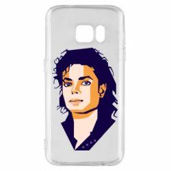 Чохол для Samsung S7 Michael Jackson Graphics Cubism