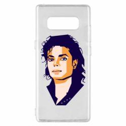 Чохол для Samsung Note 8 Michael Jackson Graphics Cubism