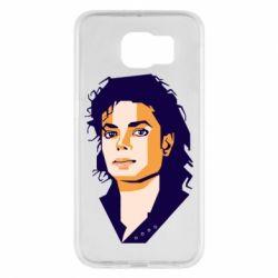 Чохол для Samsung S6 Michael Jackson Graphics Cubism
