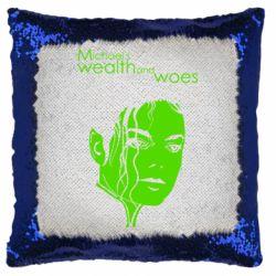 Подушка-хамелеон michael's wealth and woes