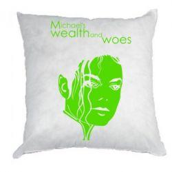 Подушка michael's wealth and woes