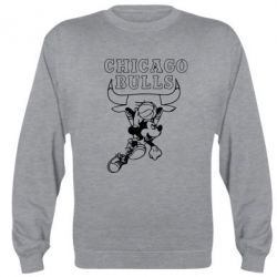 Реглан (свитшот) Mickey and Chicago Bulls