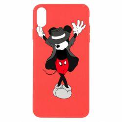 Чехол для iPhone X/Xs Mickey Jackson