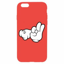 "Чехол для iPhone 6/6S Mickey Mouse Hands ""Chop-chop"""